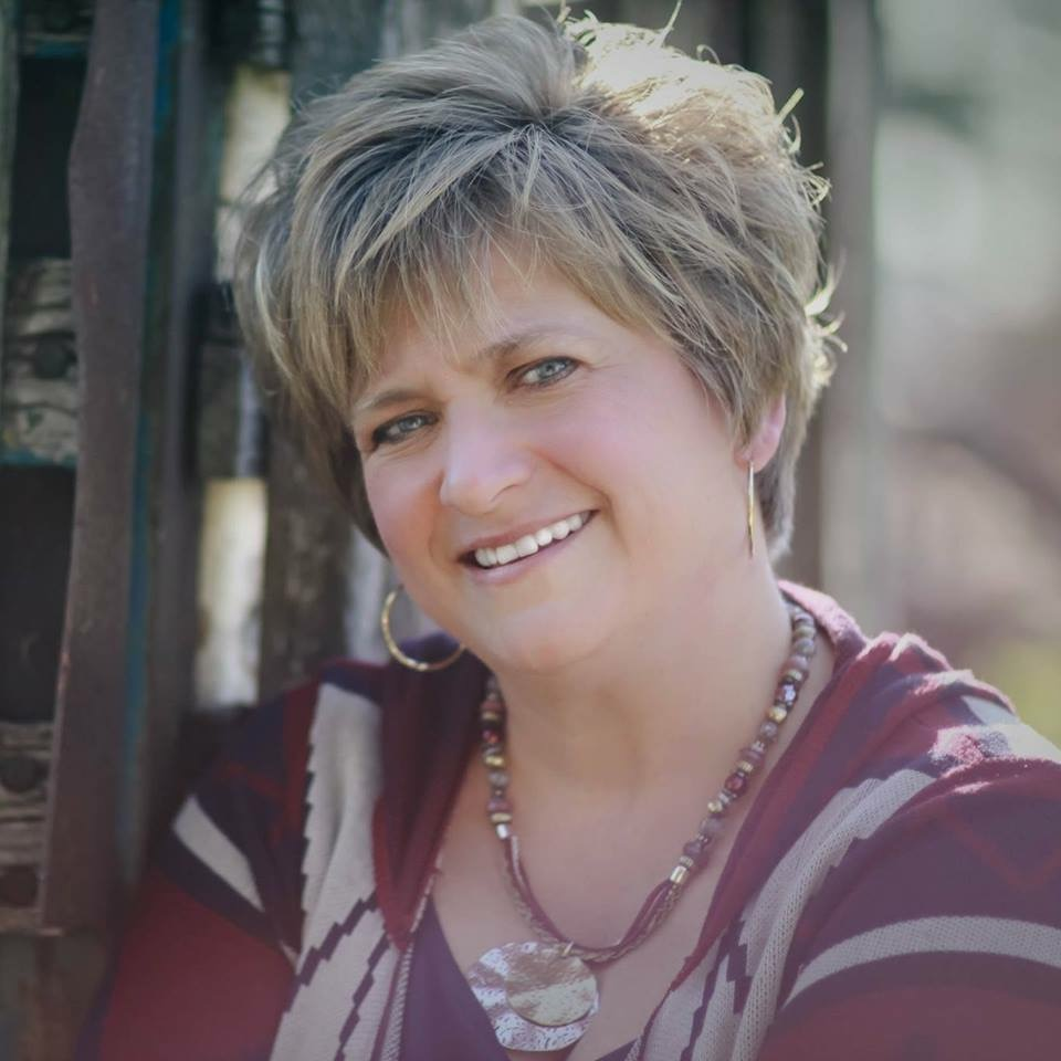 This is a picture of Gwen Schroeder, owner of The Design Station.