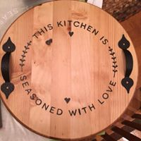 Round Wooden Tray project