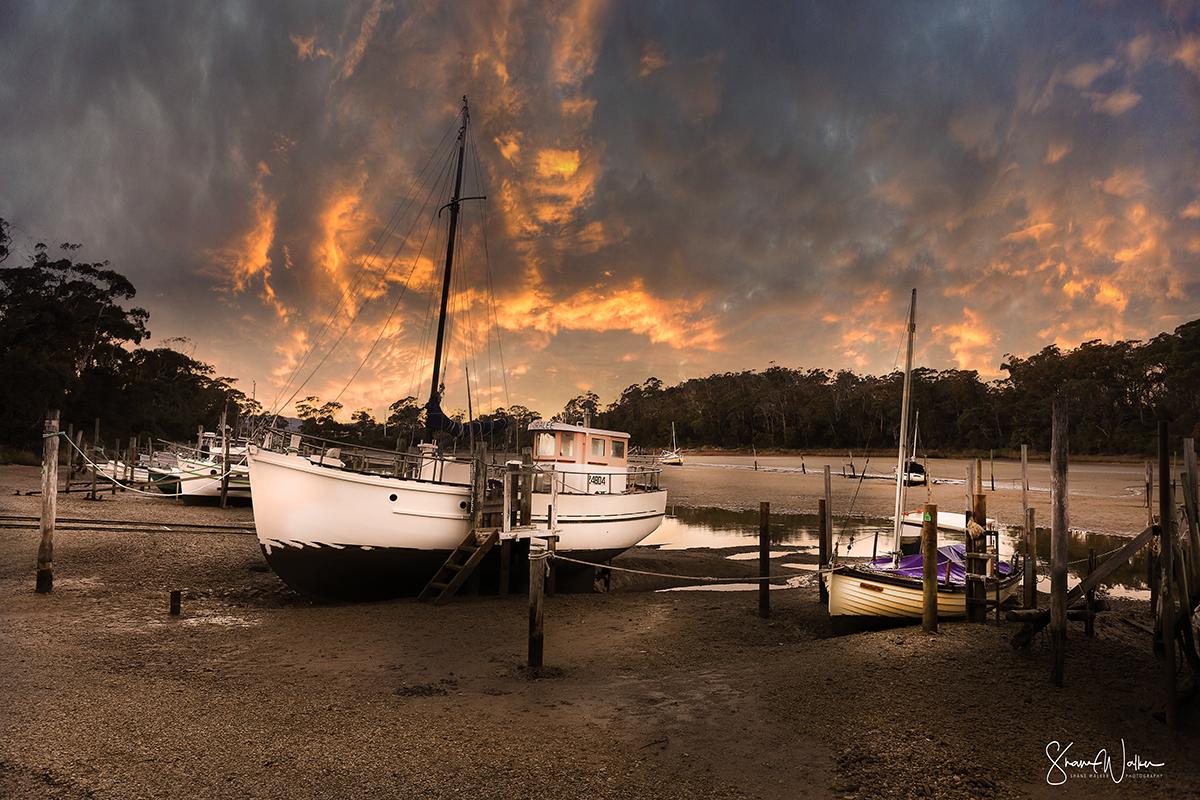 Fishing Boats - Panatana Rivulet