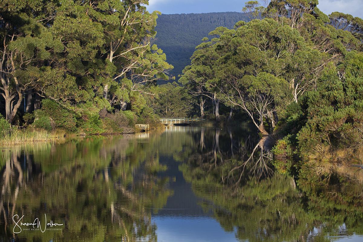 Captain Cook creek - Bruny Island