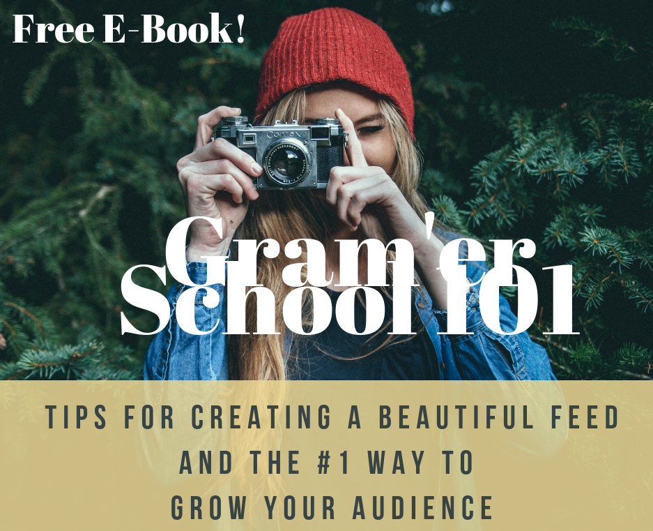 Beat the algorithm and create a jaw-droppingly beautiful and engaged IG feed. PLUS! Grab my very best hack for growing your followers - it's the only thing that will truly work. It's what I used when I needed to grow my following in order to get a book deal for my first cookbook, and it grew my following by 4,500 people in a matter of a couple of months. We're talking organic, authentic, sustainable growth. Click through to download your FREE E-BOOK!