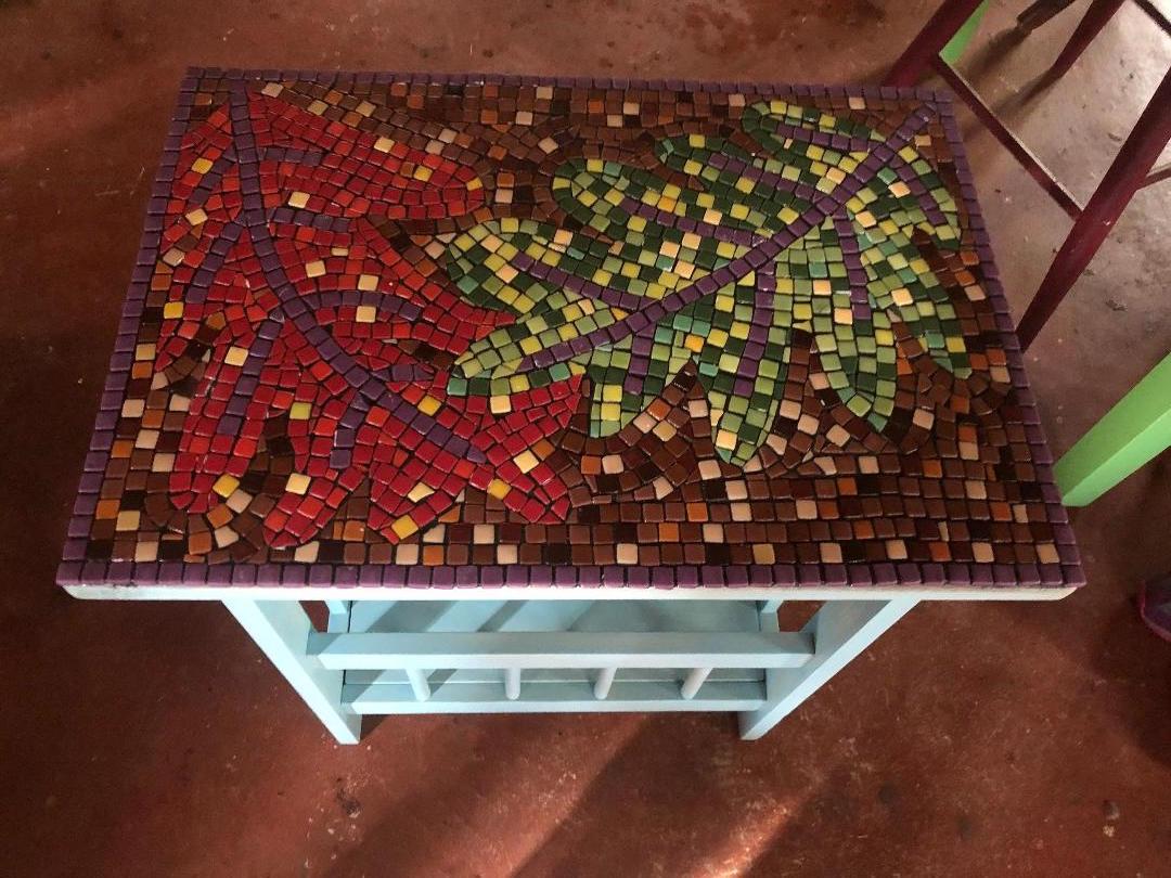 Linda Zidonik, Leaf Table.jpg