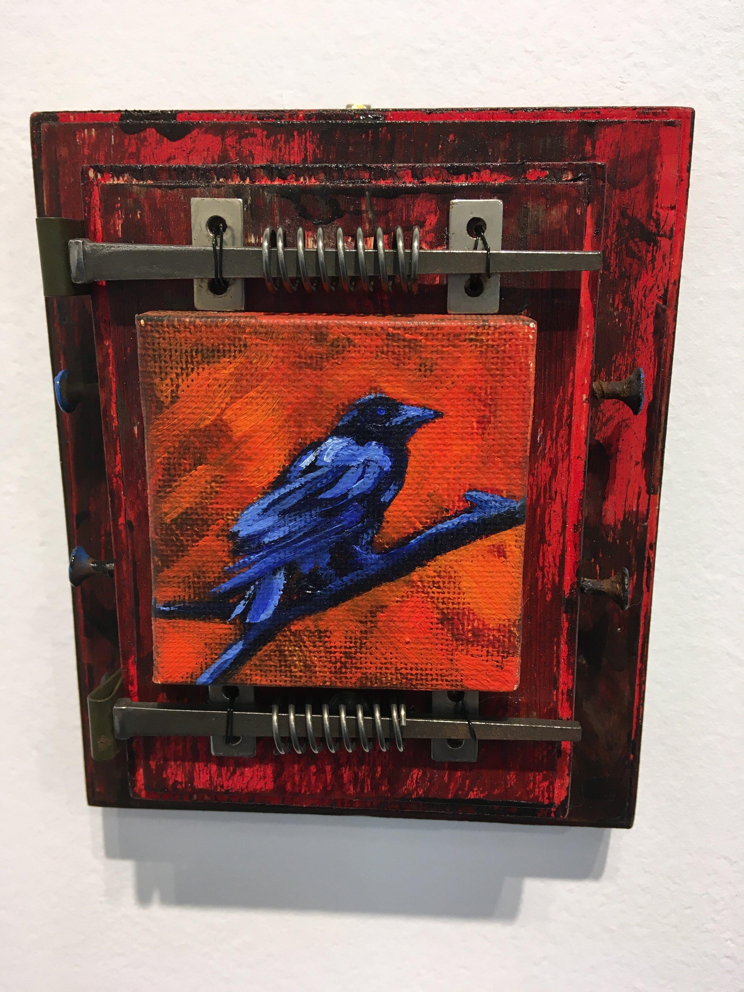 Robin Popp, Cut Nail Crow.JPG