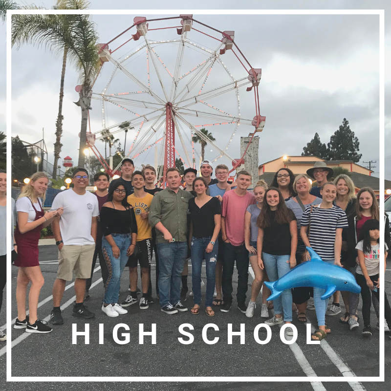 high school - Our High School group meets at 9:30 AM on Sunday mornings in the Surfside Chapel & Thursday nights at 7:00 PM in the Surfside Chapel (1st floor in the north church building).> LEARN MORE
