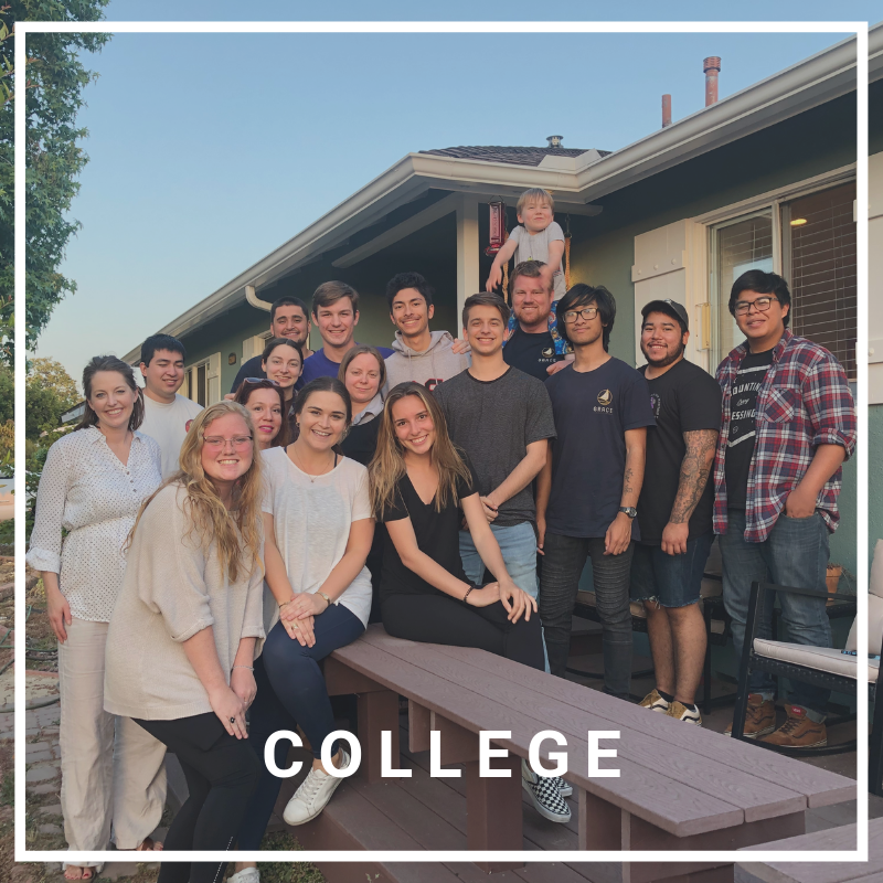 College - Our college students meet together on Wednesday evenings at 6:00 PM in a local home. Whether you're a student at CSULB, a city college, or just college aged and looking for community, our group is the place for you!> LEARN MORE