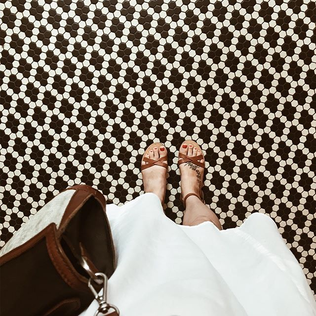 Not pictured: Dalton attempting to open the museum's emergency exit. Didn't he know I was trying to take a picture of my feet? On the pretty, 100 year old tile? Rude. • • • • • • • • • • • • • • #momlife #boymom #tiles #simplychildren #thatsdarling #pursuepretty #honestmotherhood #ohheymama #antique #wildling #realmotherhood #mymotherhood #motherhoodrising #uniteinmotherhood #shoefie #museum #motherhoodthroughinstagram #postitfortheaesthetic #everydaymadewell