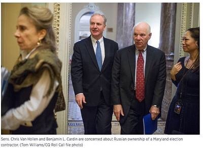 A Russian Oligarch Bought Maryland's Election Vendor.  Two Senators Are Questioning the Rules  #Election2020 #ElectionTwitter #Election #RussiaGate #Russia #Maryland