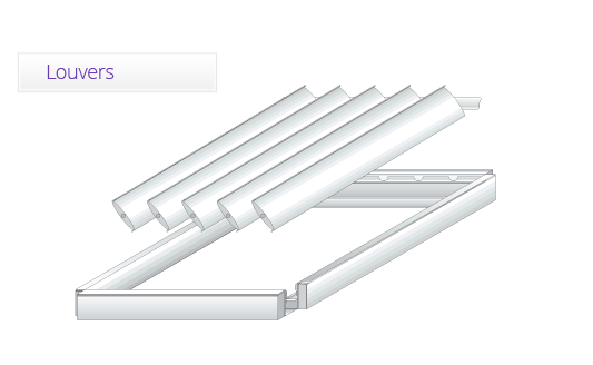 Independent Guttering andFlexible framework - Our uniquely designed gutters are fitted inside the perimeter of the frame (independent of existing guttering) to ensure that any water is safely run off the louvres into dedicated or pre-existing downpipes.
