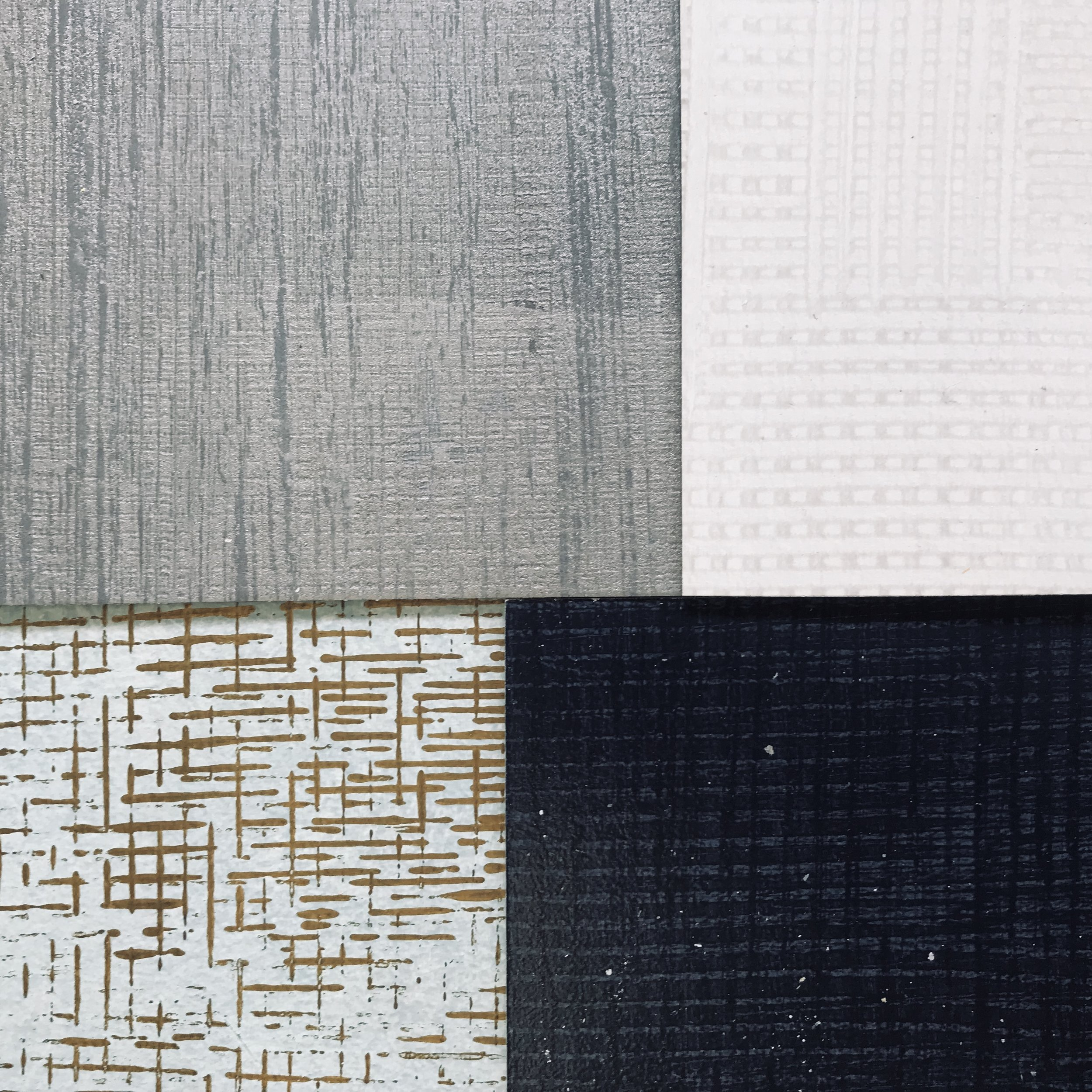 Crosshatch + Combed textures -