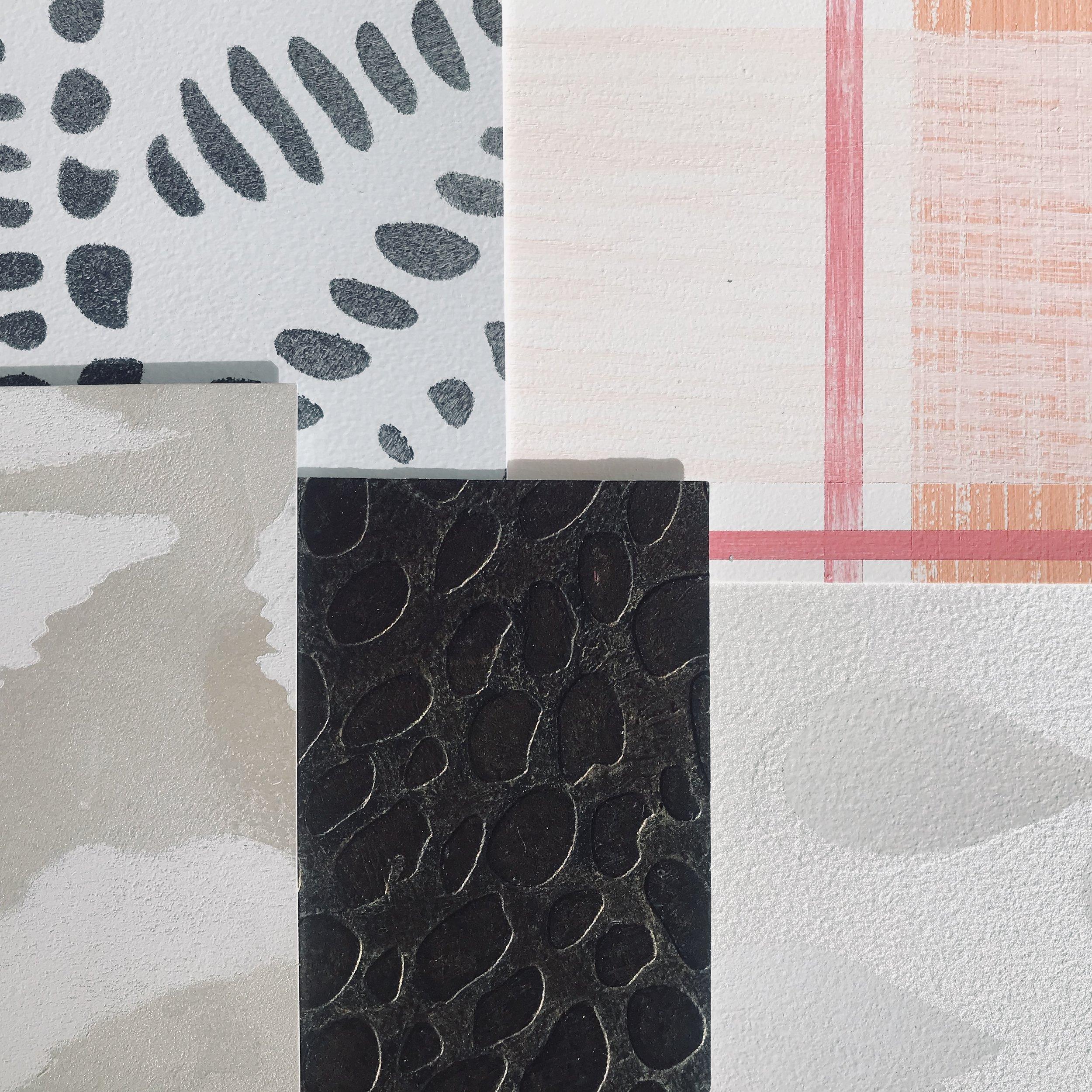 Stencils + patterns -