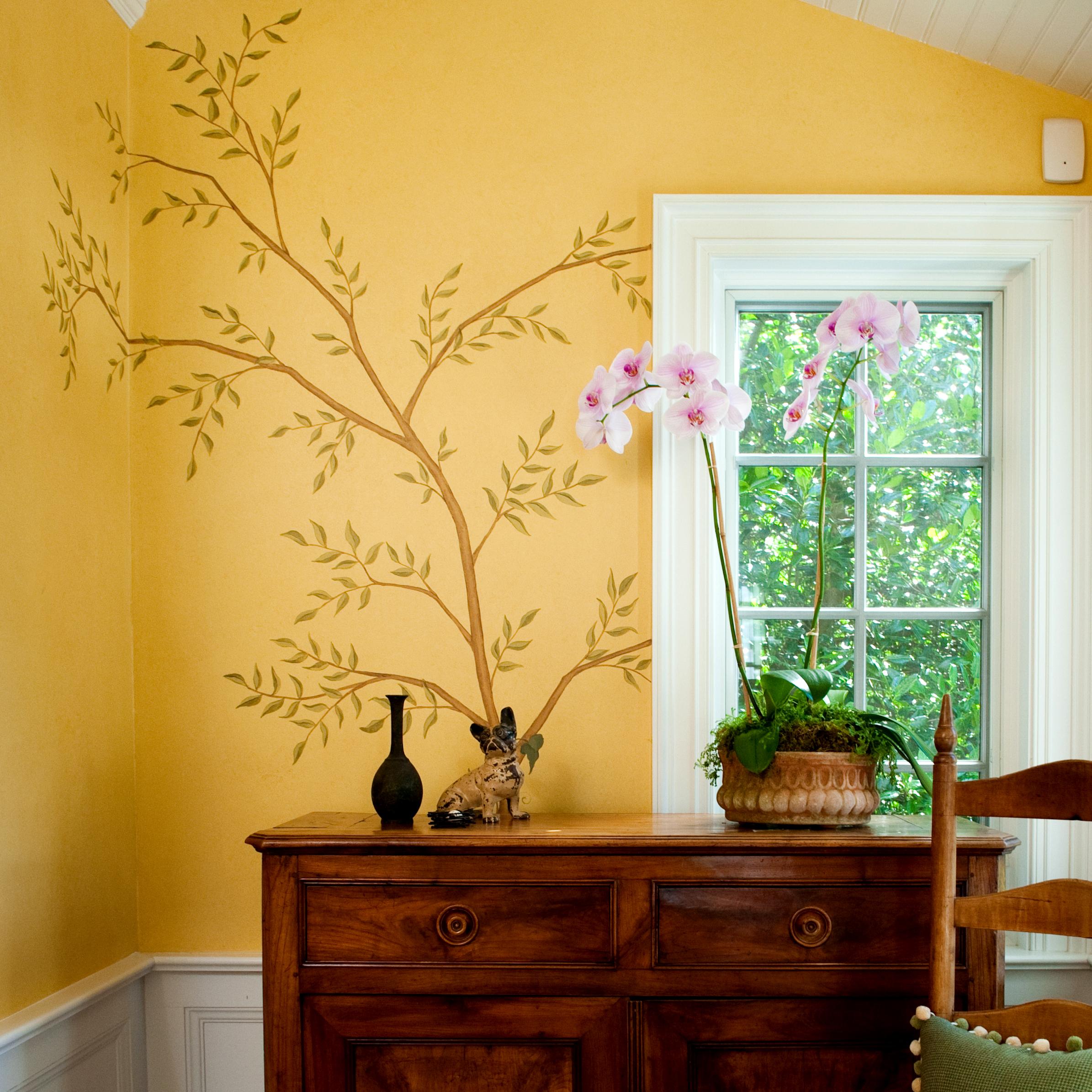 Mural + Paper Restoration -