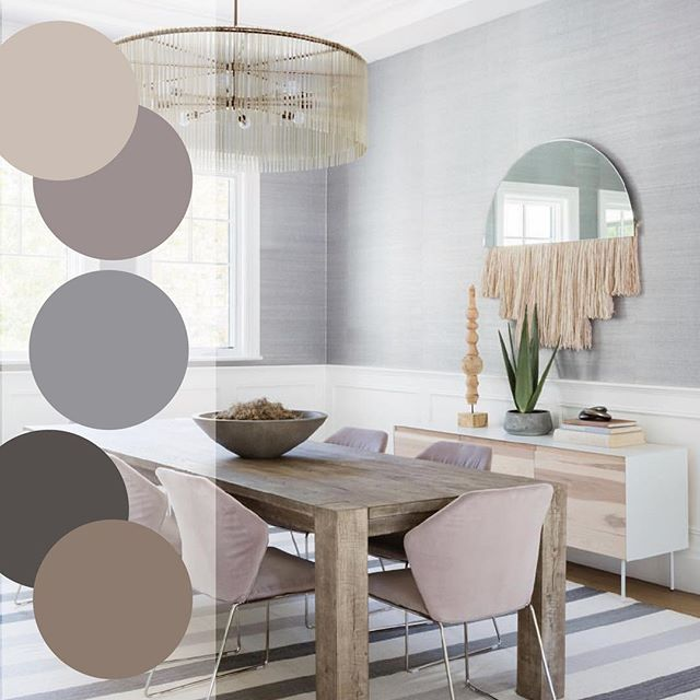 These cool tone neutrals in this minimal dining space is #whatwelove today! The blend of decor by designer Genna Margolis of @shapeside is killing it between the use of high and low-end products. Brilliant! 📸 : @amybartlam • • • • #designdetails #interiordesign #designinspo #designcrush #interiors #interiorinspo #ctdesigner #nydesigner #ctliving #cthomes #housedwell #housebeautiful #finishes #howihaven #cmonhomes #textures #colorpalette #cooltones #diningroom #fresh #springcolors #inspired #beauty #color #allthecolor #minimalism #thursday @serenaandlily @abccarpetandhome @bludot @benandajablanc @arteriorshome