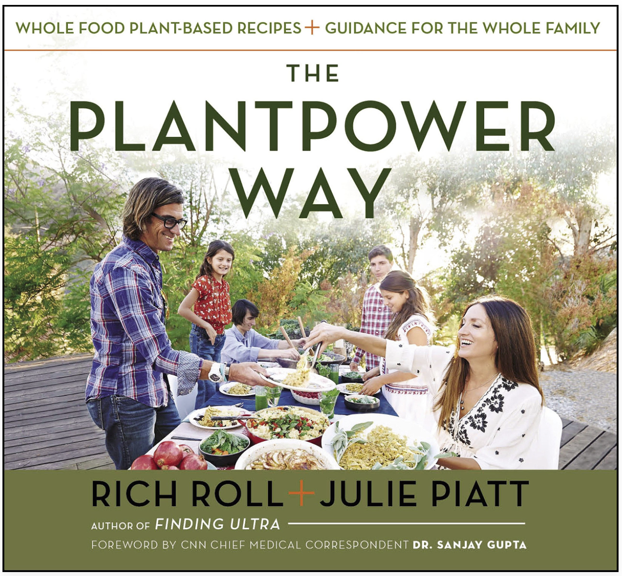 The Plantpower Way - Rich Roll and Julie PiattA beautifully done whole food plant based cookbook with tons of yummy recipes to nourish your body and blow your taste buds away.