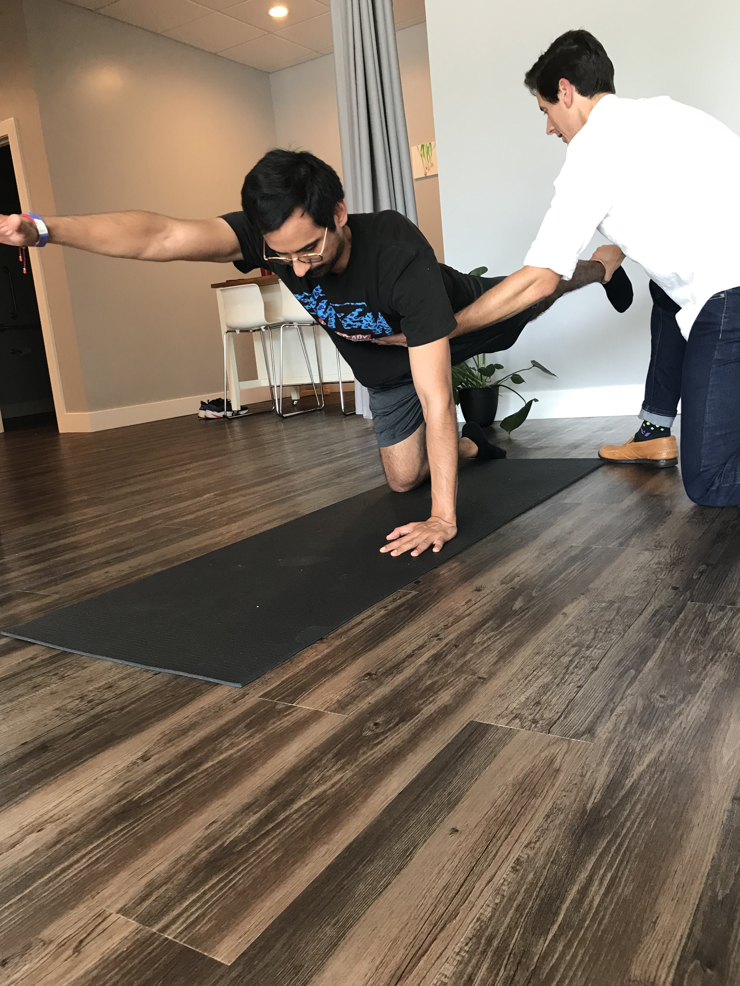"""Francisco - """"That was much needed! Thanks MountainFit Wellness. The body activation and alignment has me feeling alive again."""""""