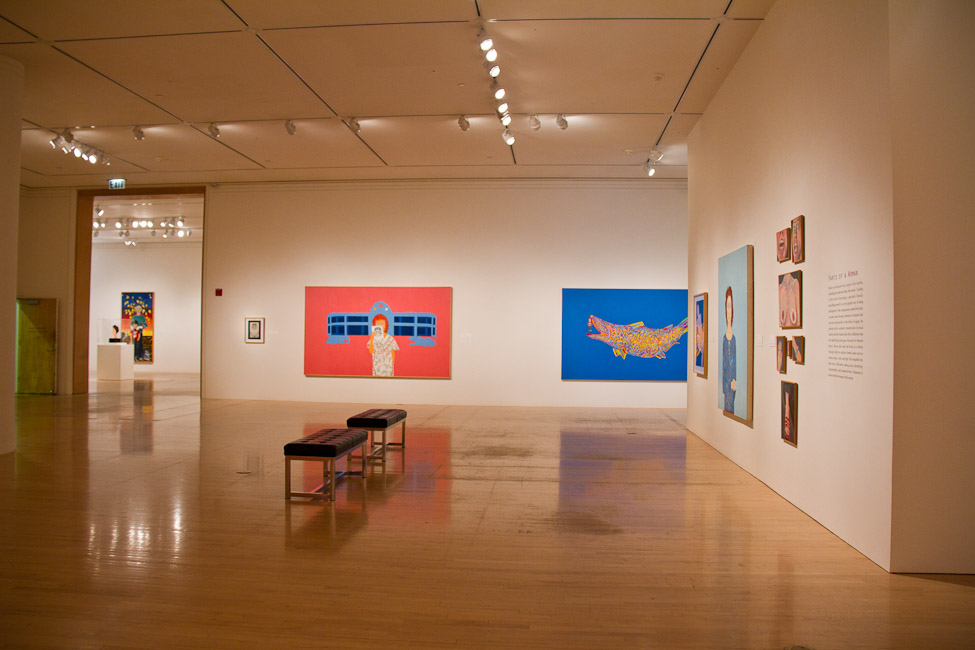 San Jose Museum of Art, San Jose, CA, Joan Brown, This Kind of Bird Flies Backwards, October 14, 2011 – March 11, 2012 2.jpg