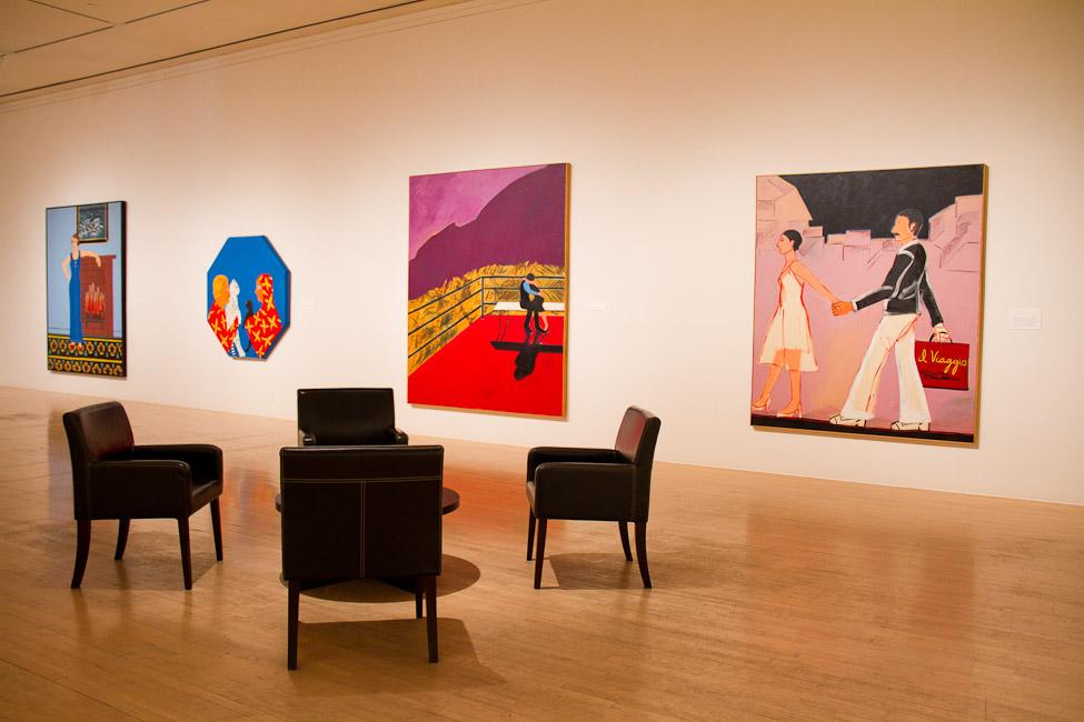 San Jose Museum of Art, San Jose, CA, Joan Brown, This Kind of Bird Flies Backwards, October 14, 2011 – March 11, 2012 5.jpg