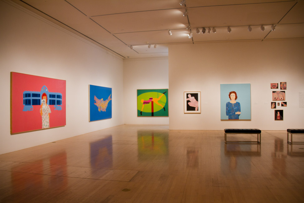 San Jose Museum of Art, San Jose, CA, Joan Brown, This Kind of Bird Flies Backwards, October 14, 2011 – March 11, 2012 7.jpg