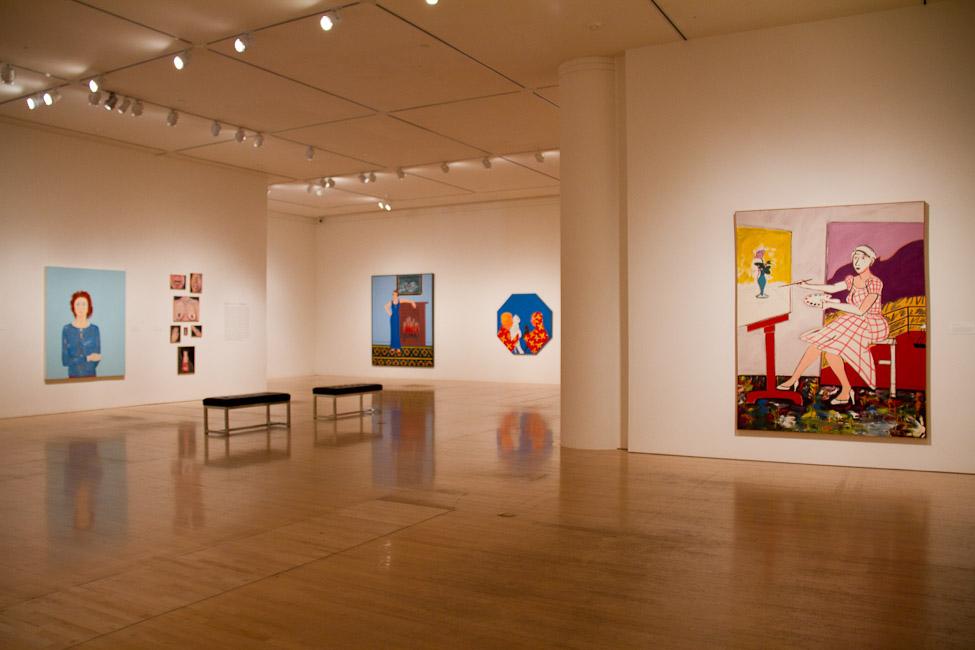 San Jose Museum of Art, San Jose, CA, Joan Brown, This Kind of Bird Flies Backwards, October 14, 2011 – March 11, 2012 8.jpg