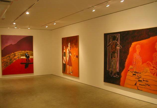 George Adams Gallery, New York, Joan Brown, The Affair, May 2 – June 16, 2006 2.jpg