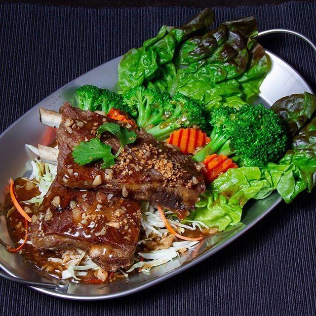 Yummy! #thaibeef #broccolli