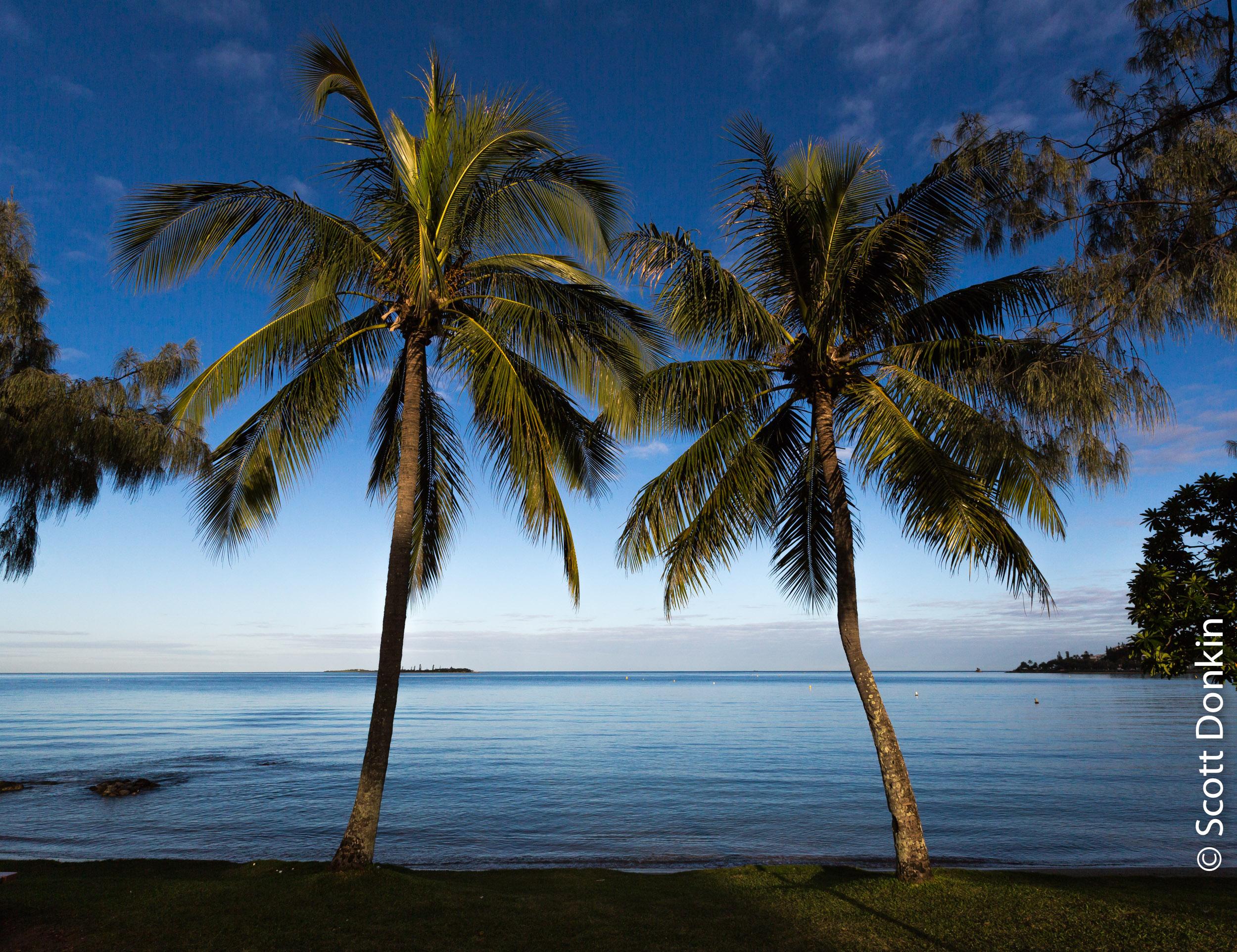 Anse Vata Bay, Noumea, New Caledonia.