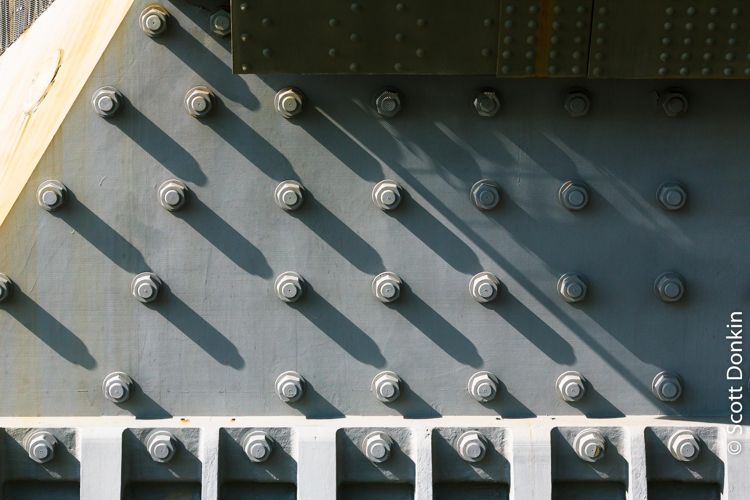 Detail. Sydney Harbour Bridge.