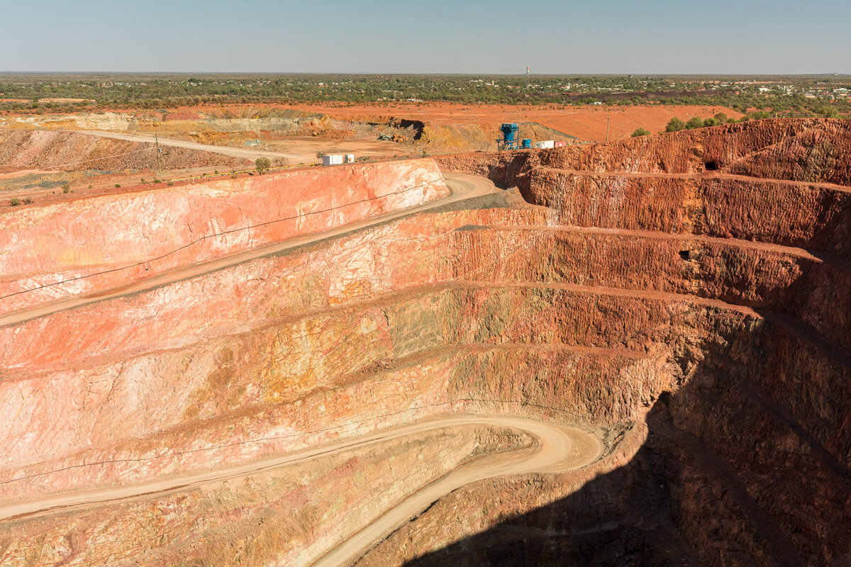 Mine.  Cobar, New South Wales.