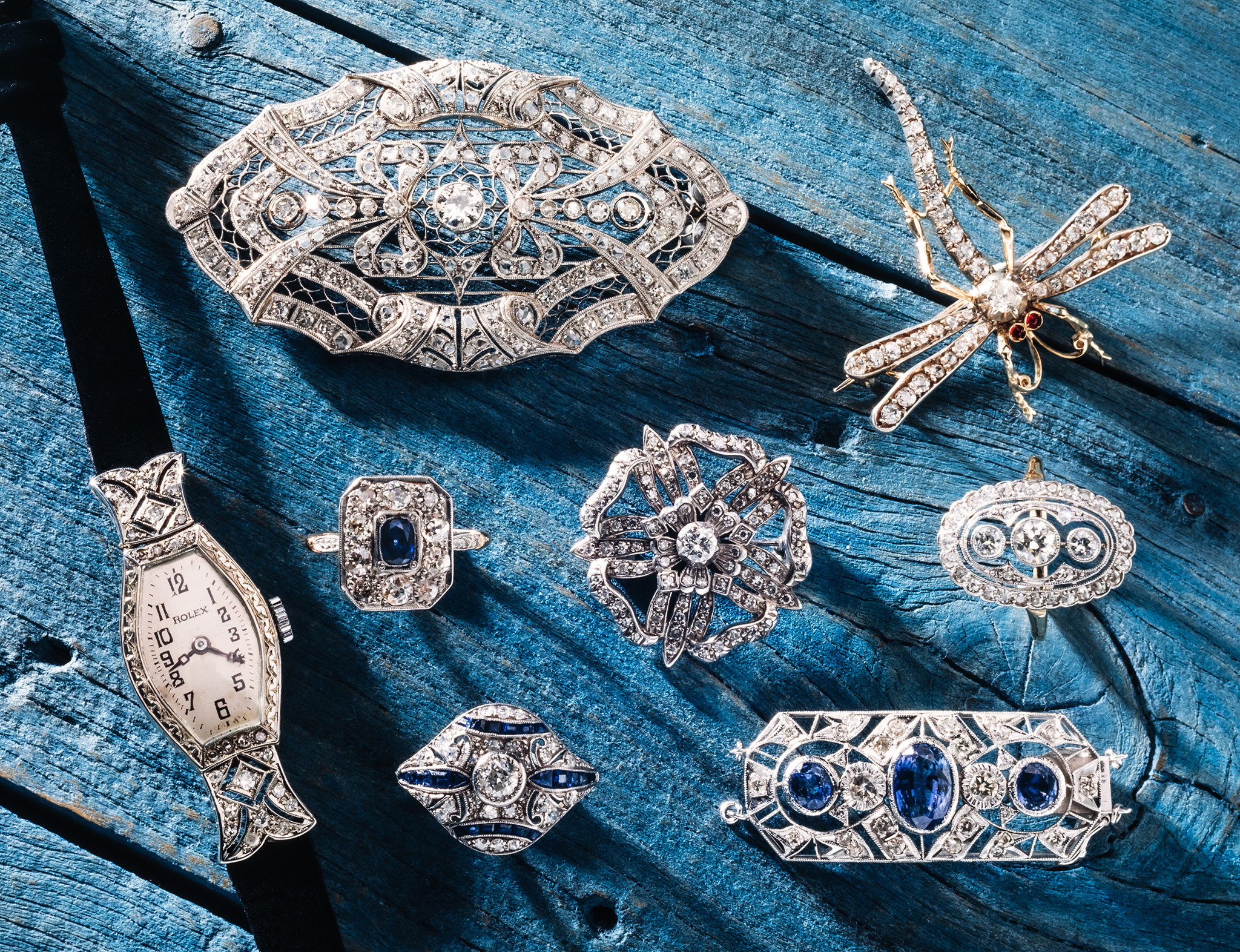 Antique Diamond Jewellery