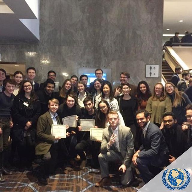 Congratulations to our Model UN Team for their great performance last weekend! The team travelled to Montreal 🇨🇦 to compete at McGill University. Good job, everyone!