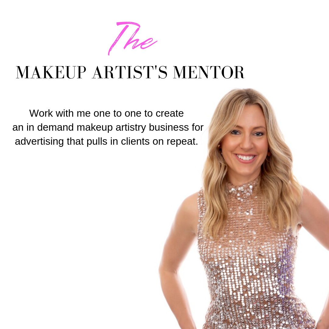 You're ready! - Fast track your vision into immediate reality and become an in demand makeup artist for advertising NOW. Together we'll identify all the ways in which you can take your business to the next level and secure the clients you dream of working with.