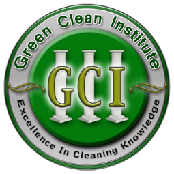 GCI CERTIFIED - GCI EHS Certification means that Pristine Greening doesn't just say that we are a green cleaning company.  It says we study it, we understand it, and we mean to bring green cleaning to a new level for your family, friends, and companions.  It says we are certified to work in areas where regular cleaners are not allowed.  It means that when we clean, we take your smallest dust particles with us; and we do it without adding to the land fills.  We do it without adding toxic chemicals to your surfaces and atmosphere, we do it Green!