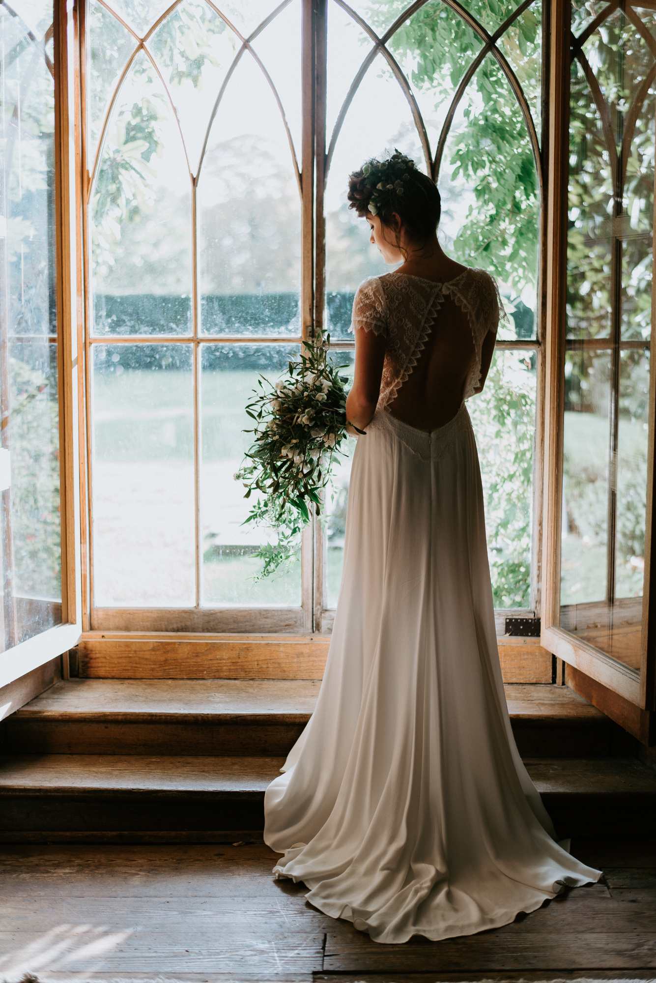 Christmas Boho Bride, Nurstead Court