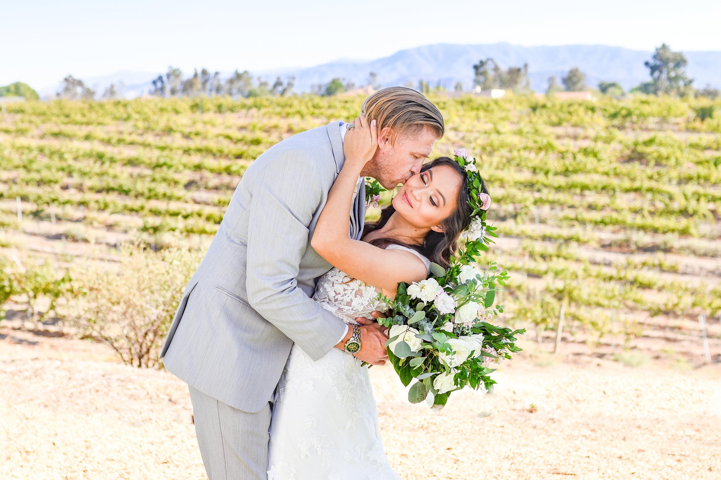 Angel and Tom-Temecula, CA Winery Wedding