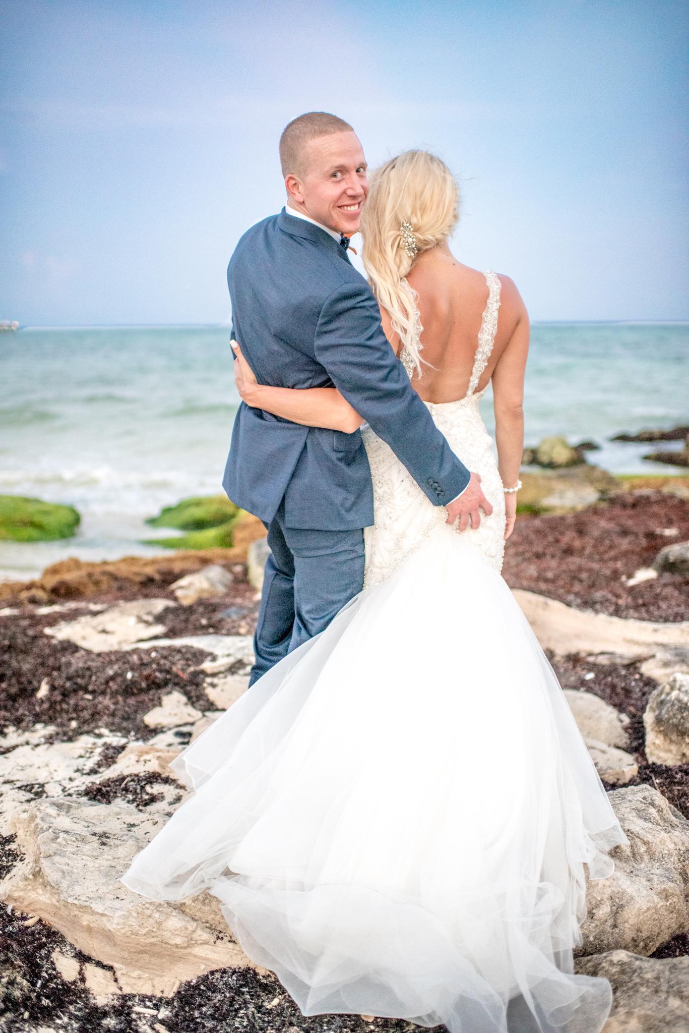 Carly & Corey- Cancun, Mexico Destination Beach Wedding