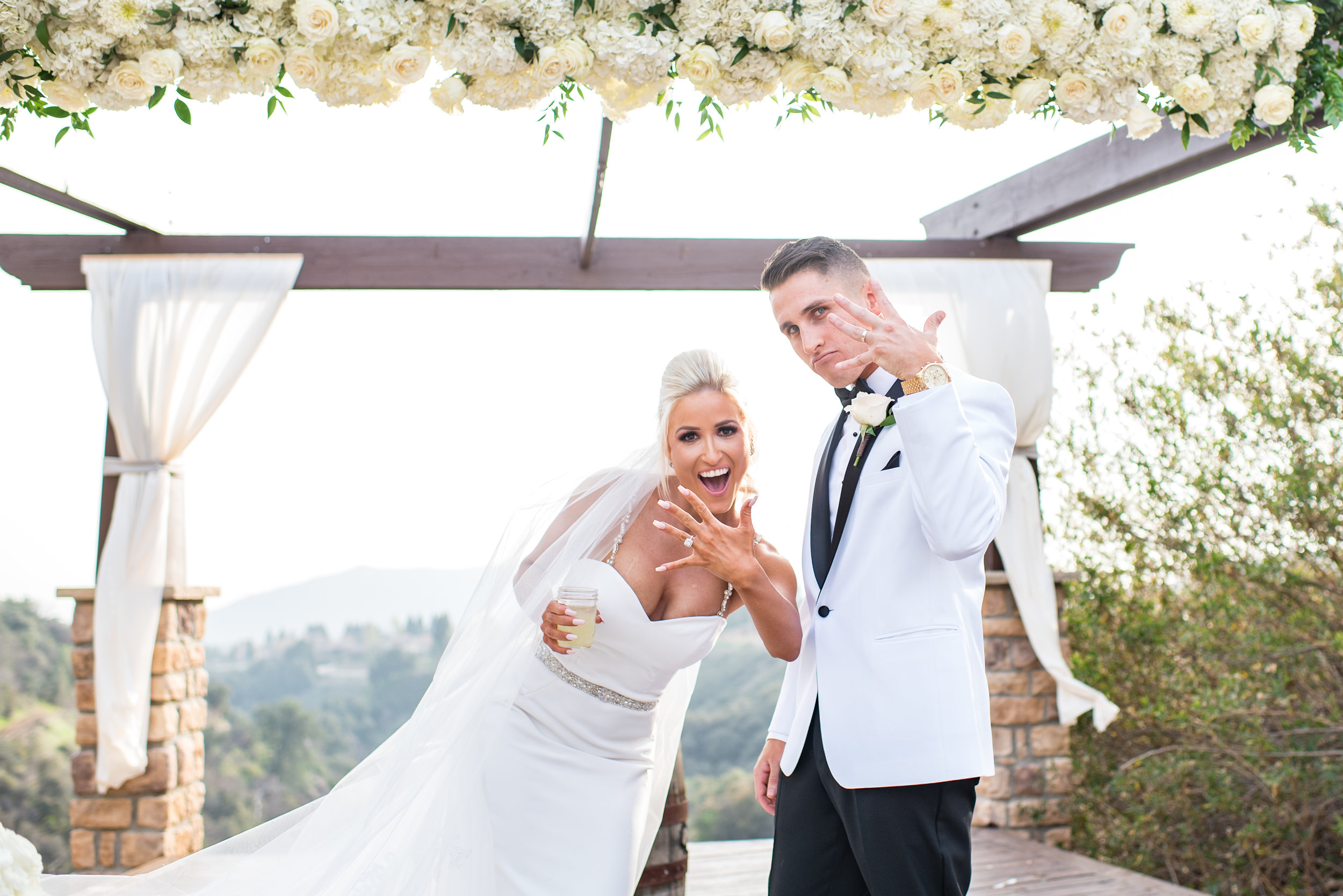 Kelly & Austin- Yucaipa, CA Wedding Filled with Surprises