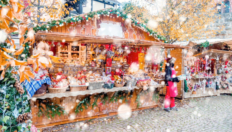 Christmas Market at Strasbourg, Alsace