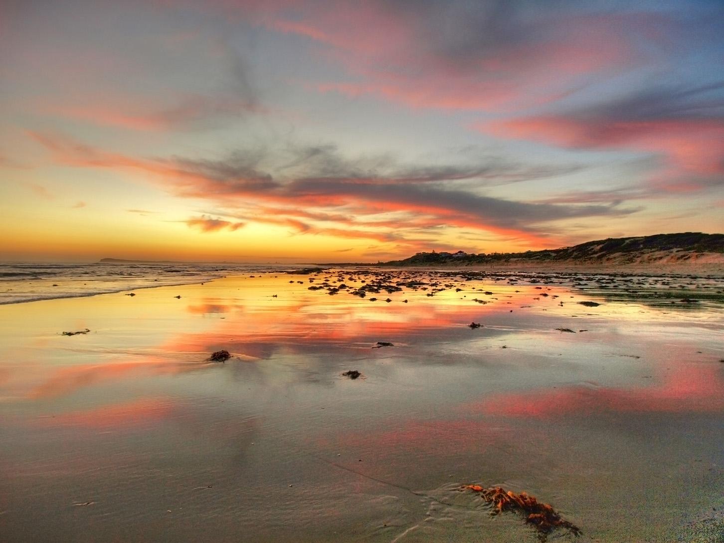 OG Sunset Reflection