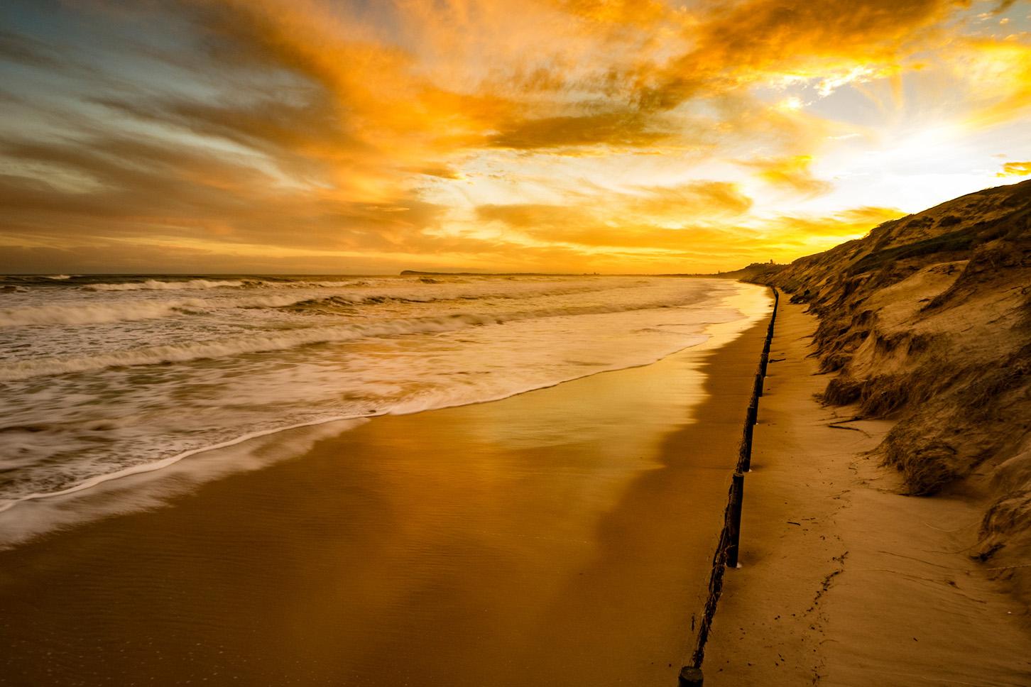 9W Beach Sunset