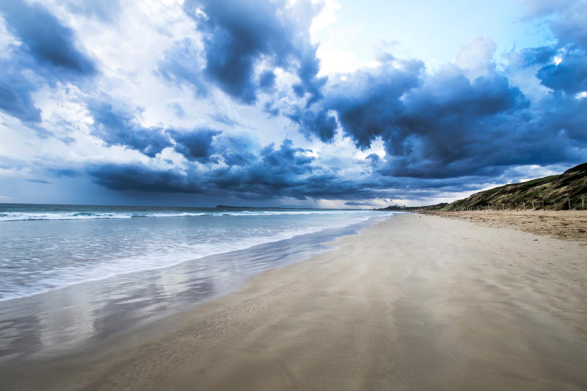 Dog Beach Clouds