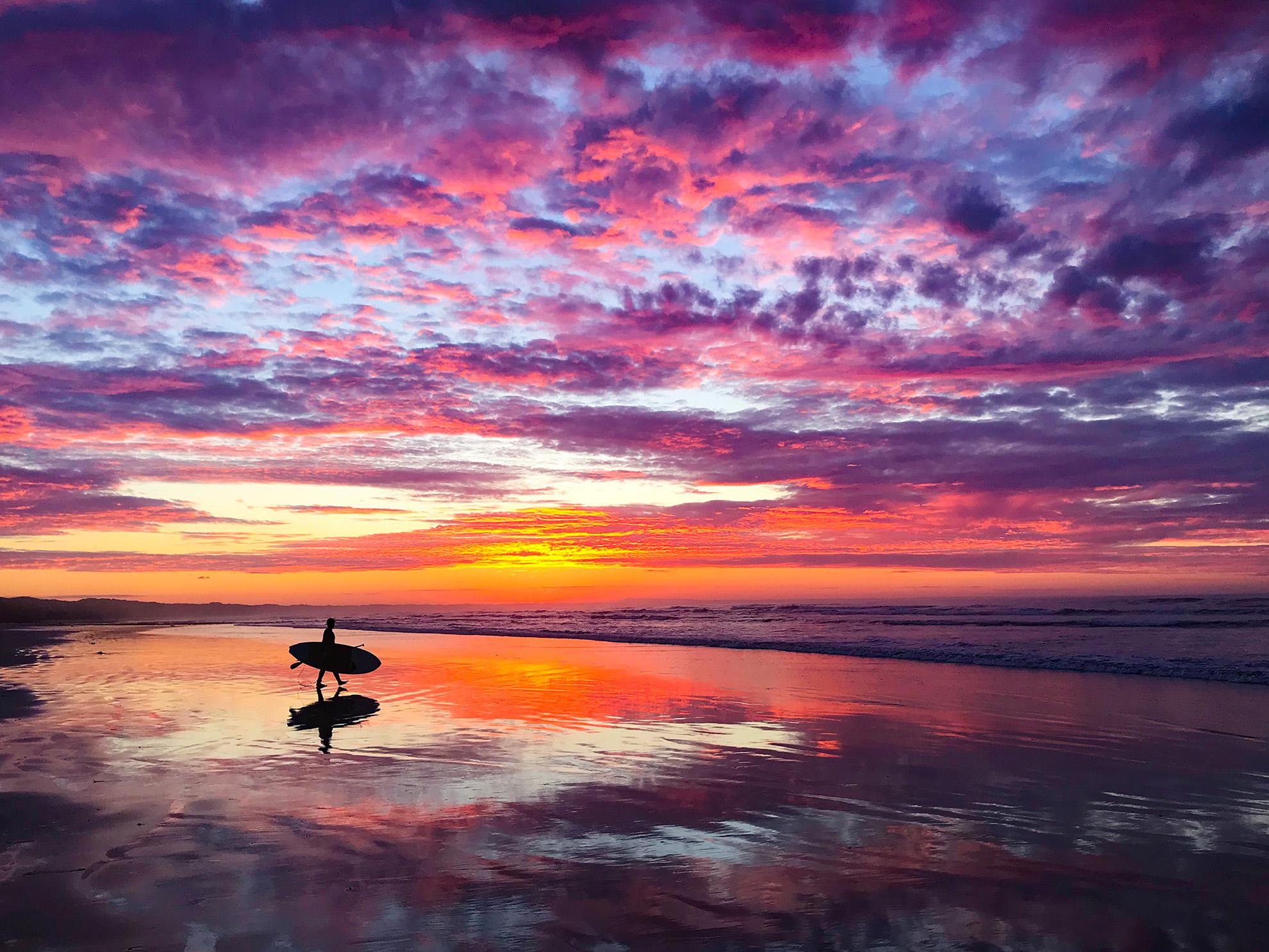 Surfer Reflection