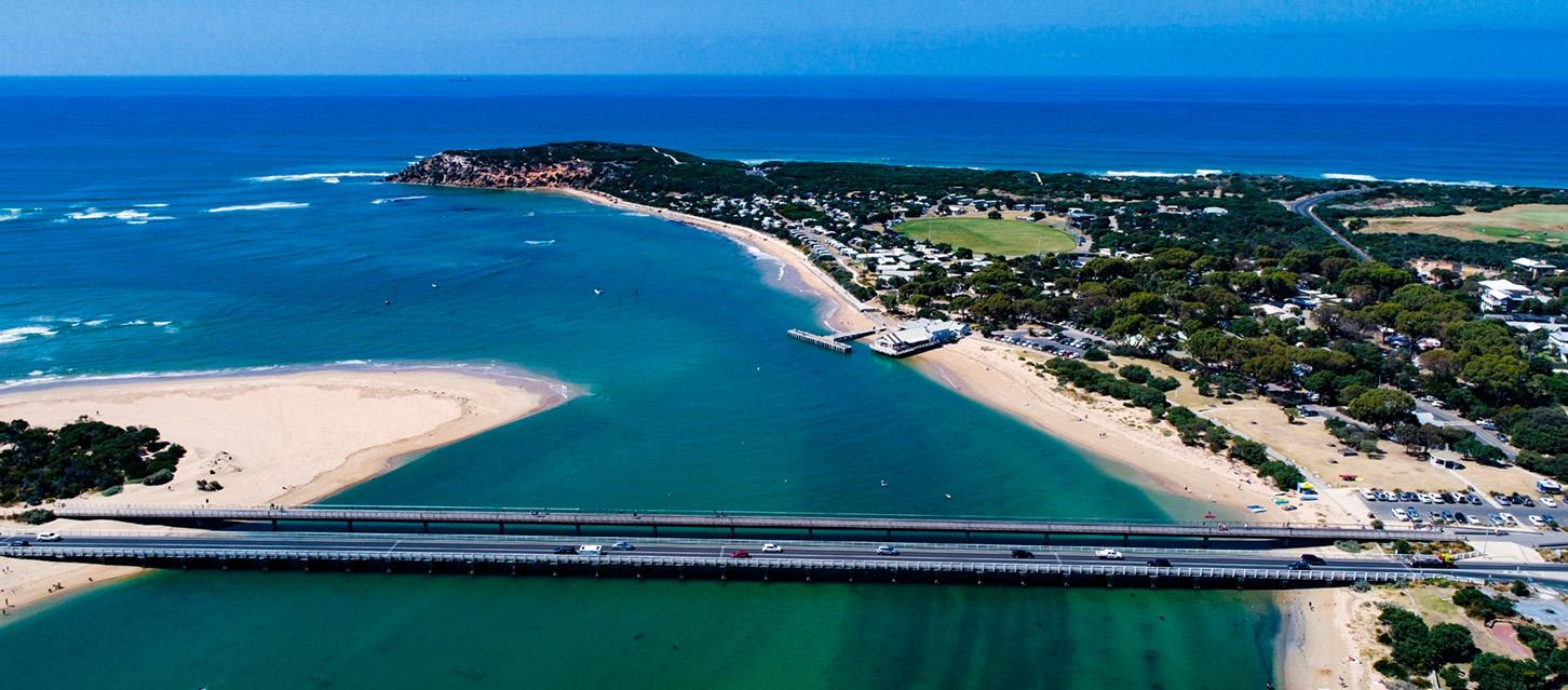 Summer Bridge Aerial