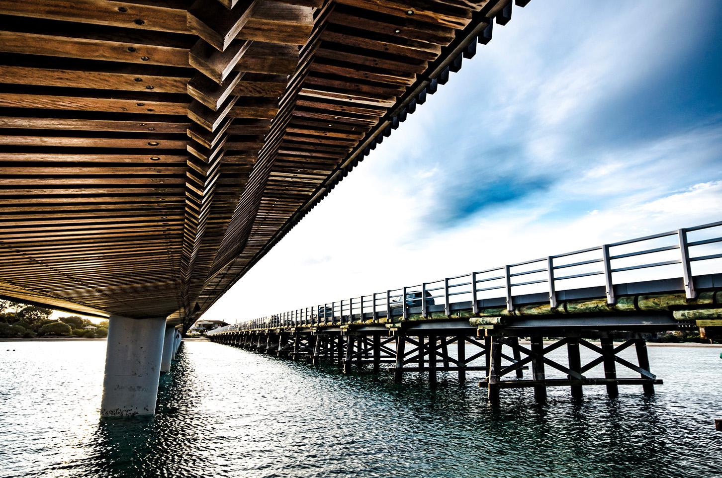 Barwon Heads Bridge Timber