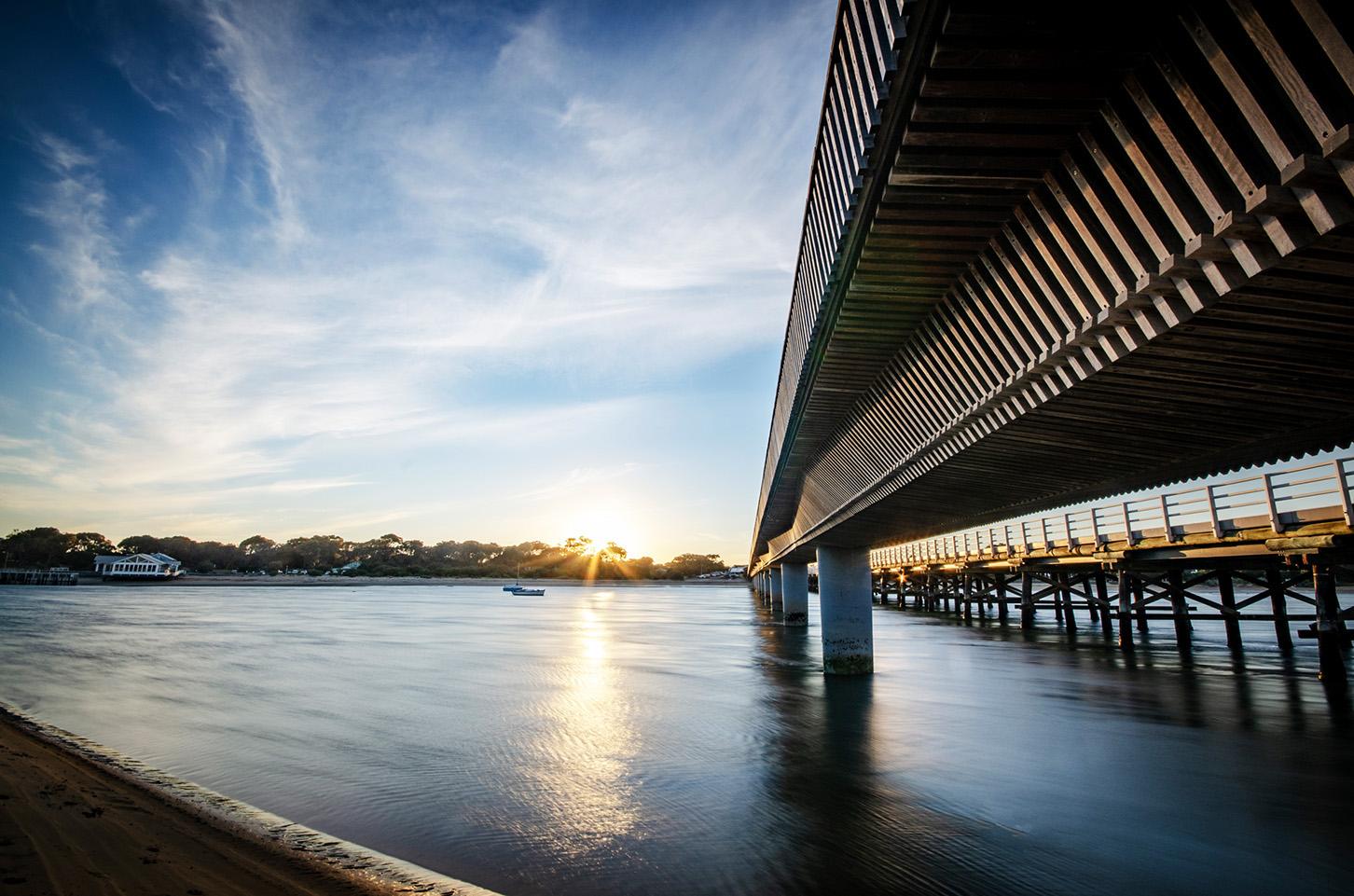 Barwon Heads Bridge Sunset