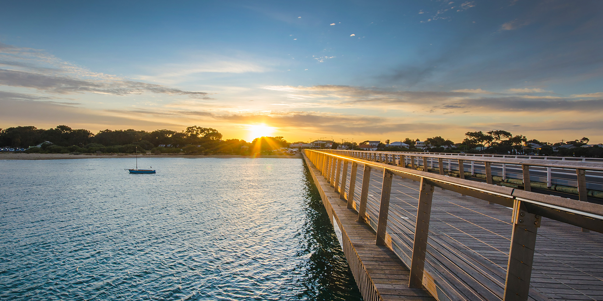 BH Bridge Summer Sunset 2