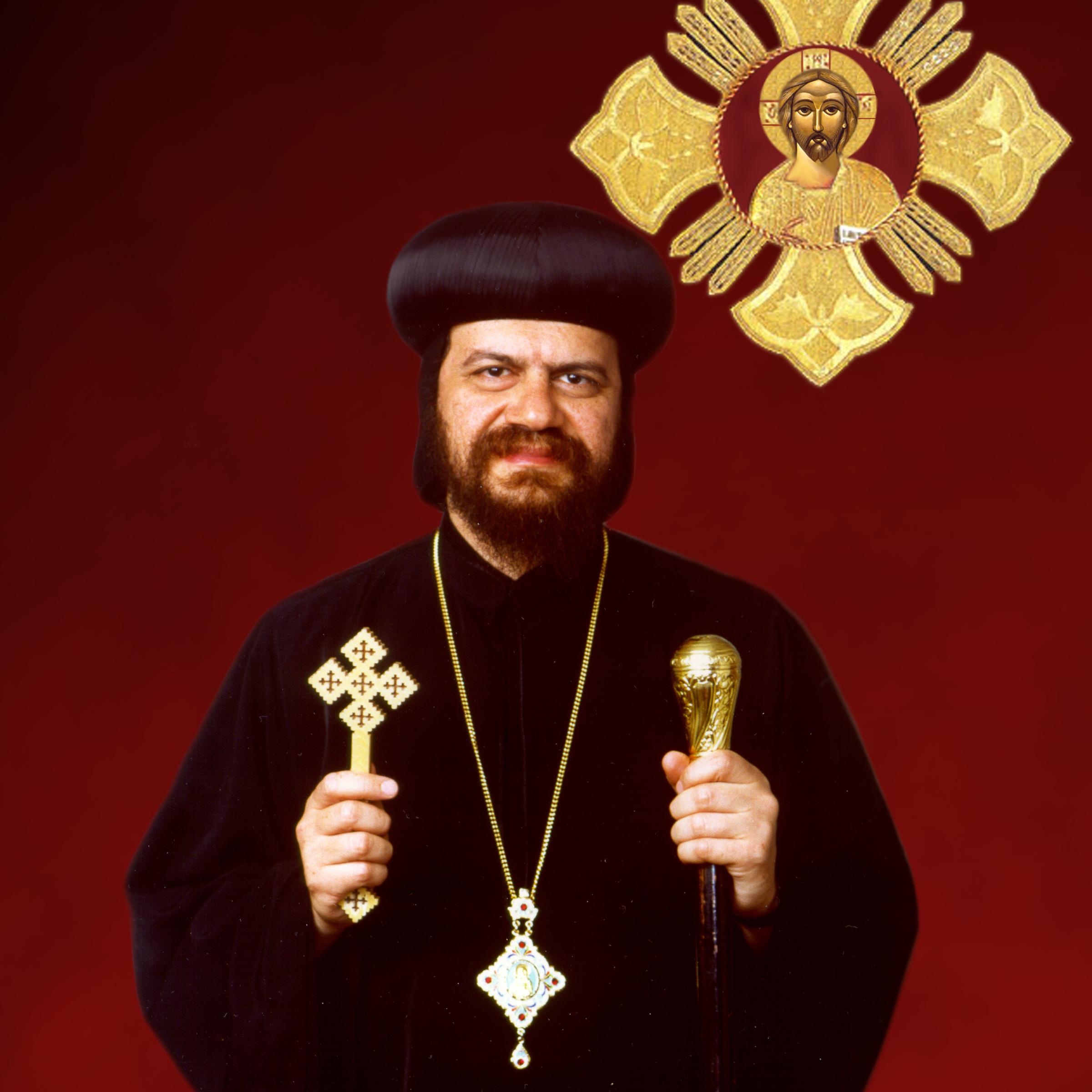 Blessing and attendance of His Eminence Metropolitan Serapion