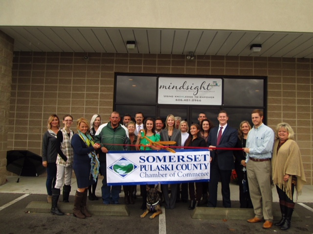 Pulaski County Chamber of Commerce' Ribbon Cutting for Mindsight Behavioral Group