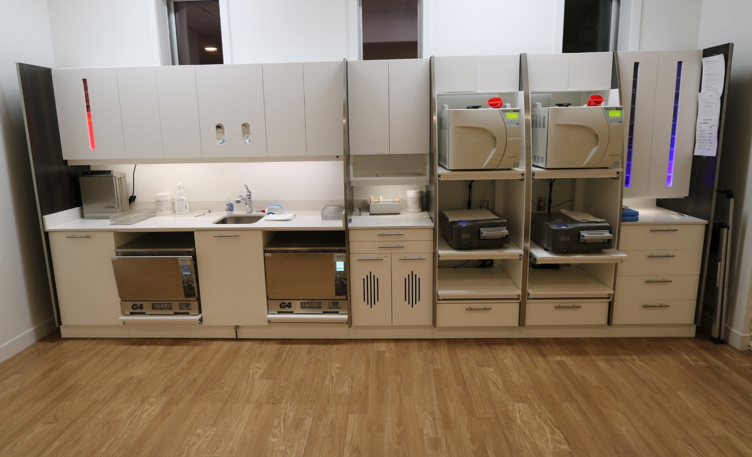 Sterilization - We take infection control seriously! We have a brand new modern Scican stericenter that allows us to go above and beyond the current sterilization standards!