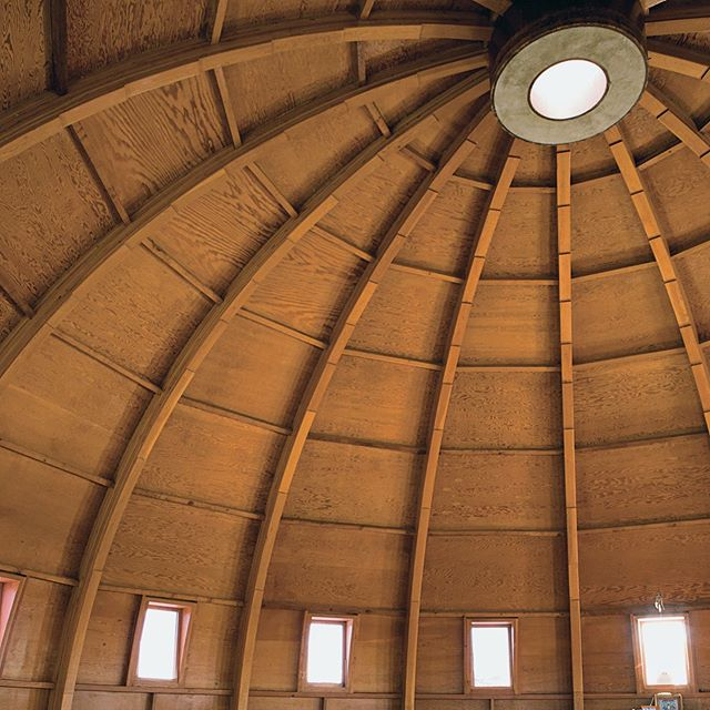 The #Integratron is a great group activity to do with your friends while visiting #Folly . This is the ultimate in unique experiences -- a geodesic dome sound bath in the middle of the Mojave Desert.