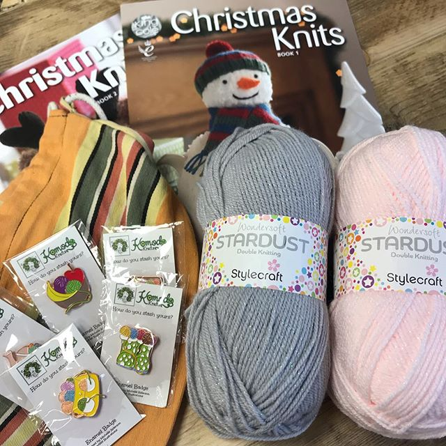 A few winners today as I'm playing catch up! Congratulations @smudgemakes you are our ninth winner and you have bagged yourself 200g of Stylecraft Stardust, @hookerry_crochet you are our tenth winner and have grabbed 200g Sirdar Fluffy, @megpugh453 you are our 11th winner and you've got 200g Sirdar Snuggly, @glitterpops  you are our 12th winner with 200g Stylecraft Boho, @dawncolbert  lucky number 13 you've grabbed 200g Stylecraft Linen Drape, and @linencircus you've got 200g Stylecraft Bambino...phew! You've all also got a project bag, a set of pin badges and King Coles Christmas Knits volumes 1 & 2!! Please dm me with your address so I can get it all shipped off to you :-) there are still plenty of prizes to be one, head to the origional post to join in! . . . #keepyarnonourstreets