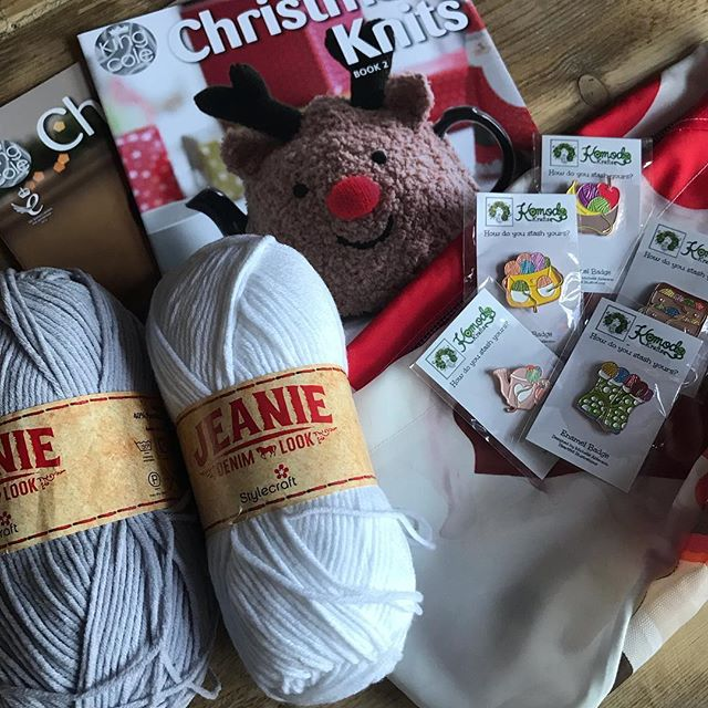 Our final 6 winners!! Congratulations to @beverleywainwright @welsh_crafter @esthermalvern @loobielou69 @yarnandblarney and @littlegreycrochet - you've all bagged yourself 200g of yarn plus a project bag, a set of pin badges and King Coles Christmas Knits volumes 1 & 2!! Please dm me with your addresses so I can get it all shipped off to you :-) . . . That brings our giveaway to a close, thanks to all who took part! We've got lots of exciting plans for the campaign for 2019, we can't wait to share them with you! . . . #keepyarnonourstreets
